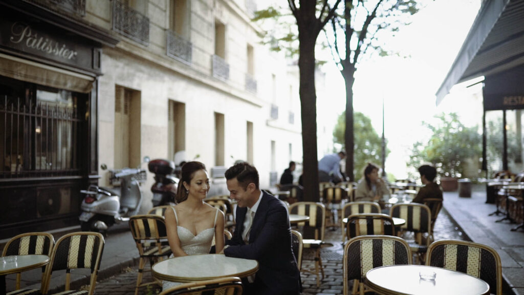 wedding short film paris france